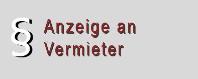 Mängelanzeige an den Vermieter - Muster mit grundlegenden Formulierungen und Hinweisen.